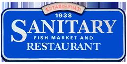 Sanitary Fish Market & Restaurant Logo