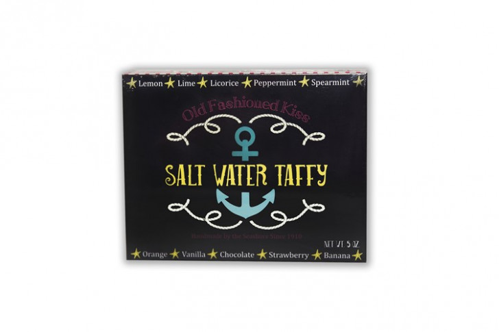 "5 oz ""Nautical"" Box A&A® Salt Water Taffy"