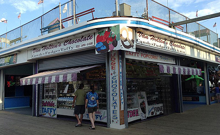 Van Holten's Chocolates and Fudge in Seaside Heights, NJ